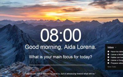 Cómo utilizar Momentum App. Agenda Digital