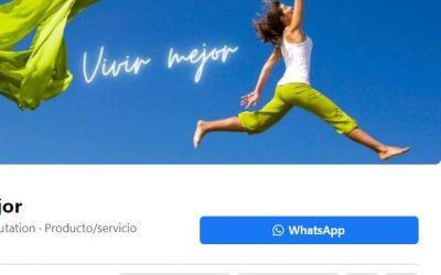 Cómo añadir el botón de Whatsapp a la fanpage de Facebook